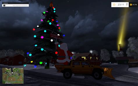 christmas v 1 0 mod for fs 2015 farming simulator 2015