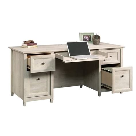 bowery hill computer desk bowery hill computer desk in chalked chestnut bh 657448