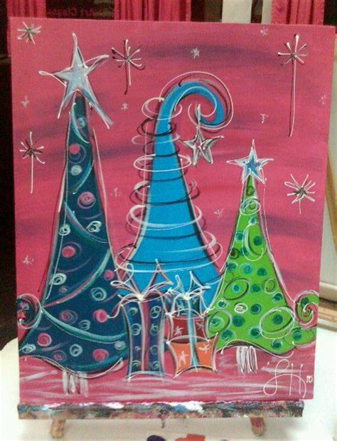 funky christmas trees 35 00 via etsy funky christmas