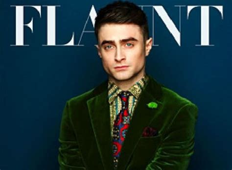 Grungy Potter Daniel Radcliff On The Cover Of Details Magazine by Daniel Radcliffe Covers Flaunt Magazine Harry Potter
