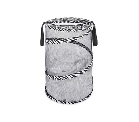 Zebra Collapsible Laundry Her Fun Basic Dorm Laundry Zebra Laundry