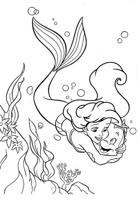 desenho sereia desenhos pequena sereia colorir desenho