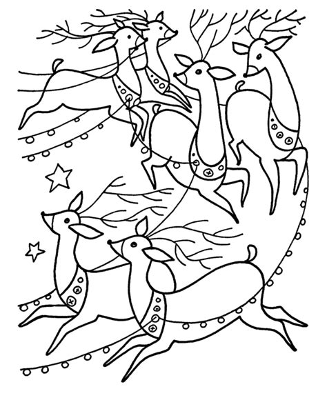 santa sleigh coloring pages coloring home