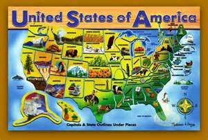 united states map state flowers alaska state quiz usa for