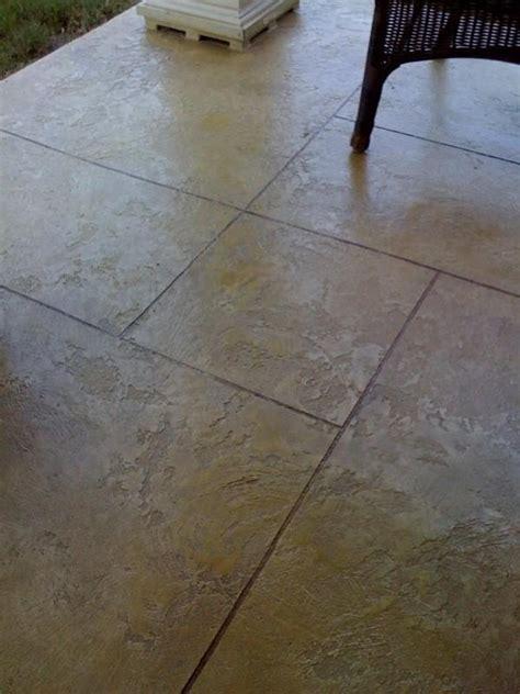 scored concrete patio 1000 ideas about concrete patio stain on