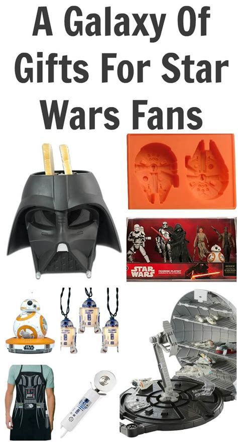 gift ideas for star wars fans a galaxy of gifts for star wars fans 60 gift ideas