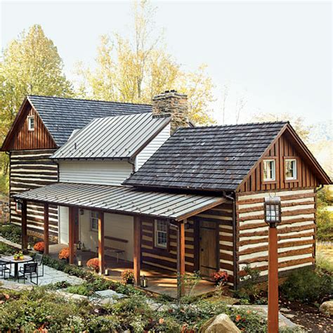 Southern Log Cabins by Historic Log Cabin Renovation Southern Living