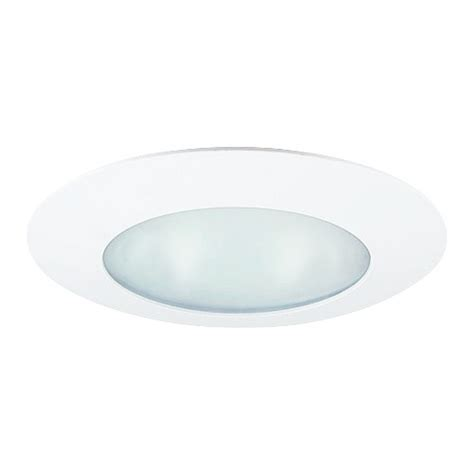 6 Recessed Lighting by 6 Quot Recessed Lighting Smooth Lens White Shower Trim