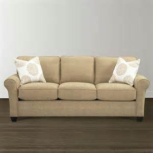 traditional style upholstered sofa