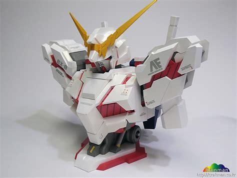 Unicorn Gundam Papercraft - gundam gundam papercraft unicorn gundam destroy