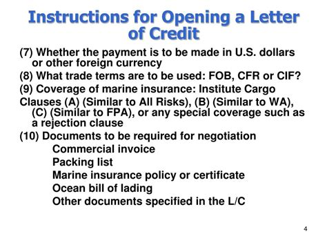 Negotiation Letter Of Credit Ppt Chapter Xxxiii Negotiation Of Shipping Documents Powerpoint Presentation Id 228395
