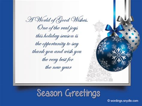happy holidays messages business messages for business wordings and messages