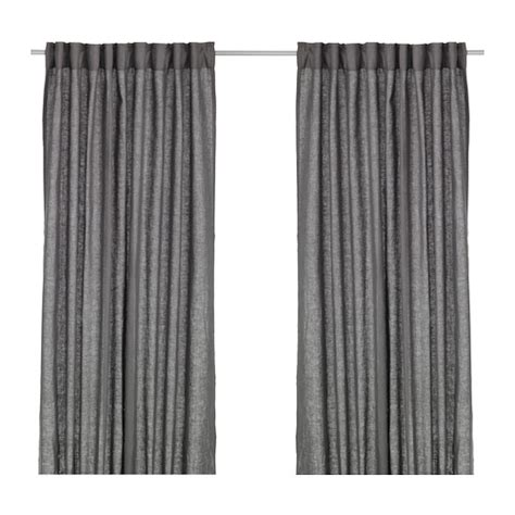 ikea curtains grey aina curtains 1 pair ikea