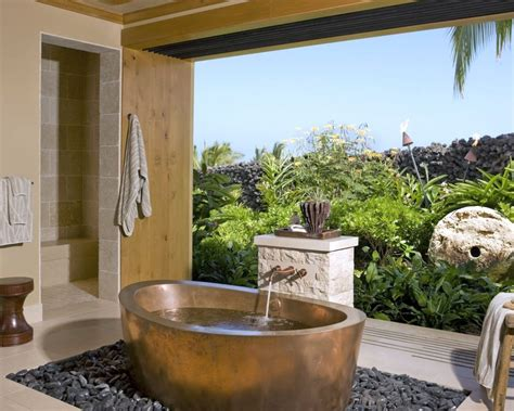 inspirasi desain kamar mandi outdoor bisa coba info properti