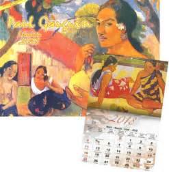 Calendrier 2018 Tahiti Calendrier 2018 Gauguin Pacific Promotion