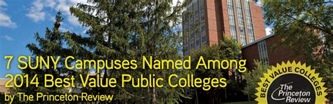 Princeton Review Part Time Mba Rankings by 7 Cuses Ranked Among 2014 Best Value Colleges By