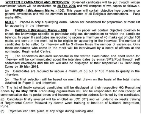 test pattern of junior national saving officer indian army rt jco syllabus pdf army new exam pattern 2015