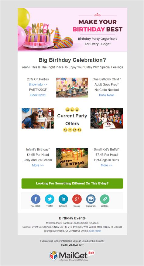 Email Marketing 12 Best Event Email Templates 2018 Formget Event Email Template