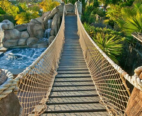 backyard rope bridge magnificent playhouse with slide in traditional dallas
