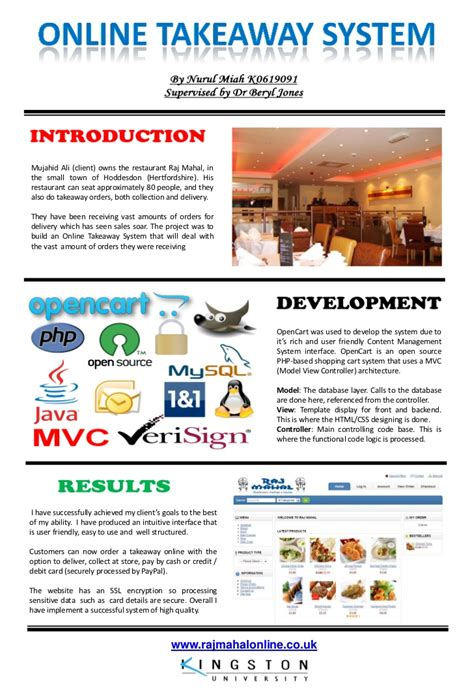 ppt templates for final year project final year university project poster