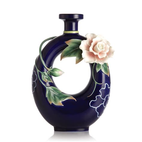 franz porcelain vase franz collection porcelain tranquility cotton vase