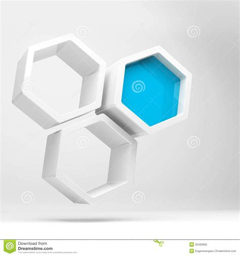 design concept honeycomb abstract concept with white honeycomb structure stock