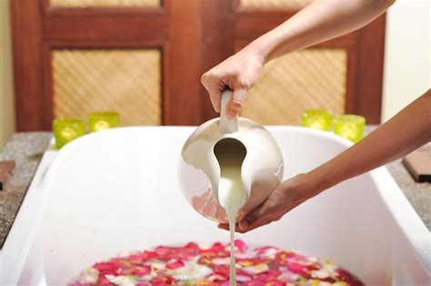 the milk bath recipe benefits ways to indulge in it