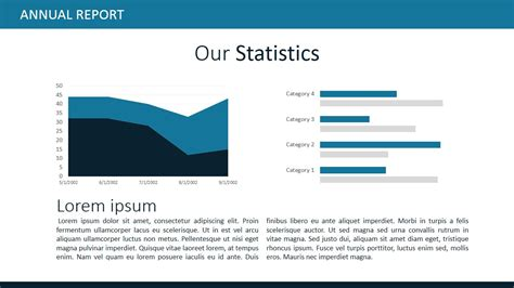 report template powerpoint annual report template for powerpoint slidemodel