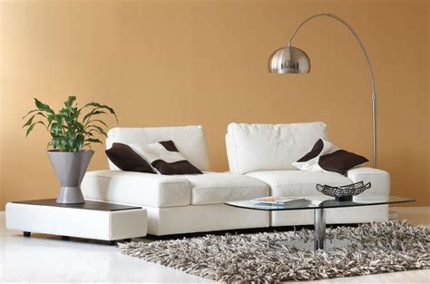 Kasala Sectional by Lissoni White Leather Sectional Kasala Living Rooms White Leather White