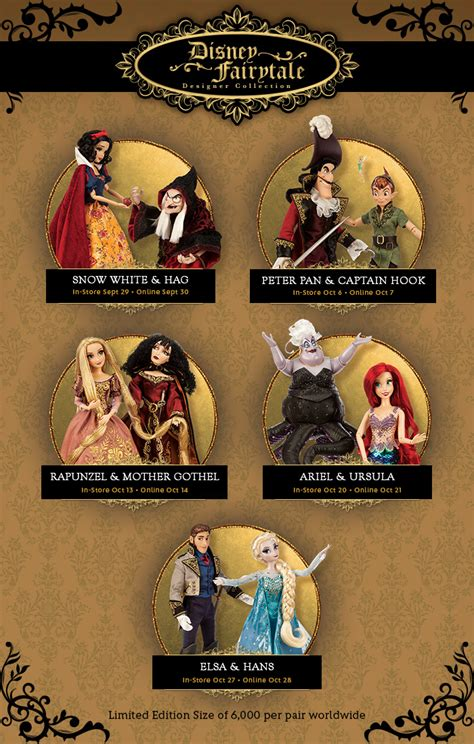 Fairytale Collection new disney fairytale designer collection from the disney