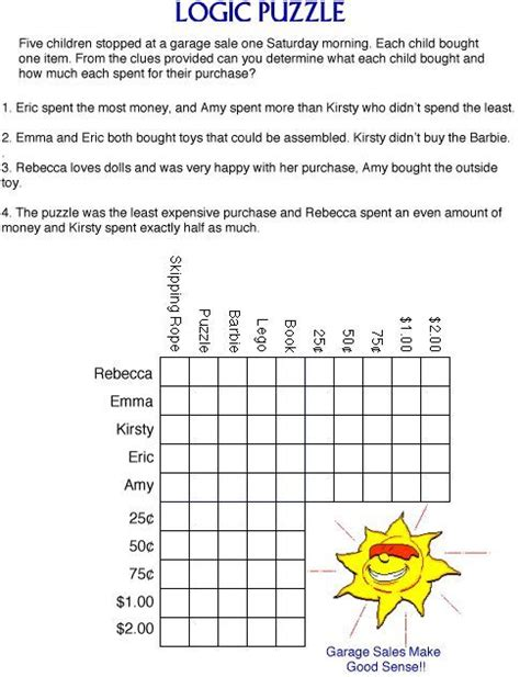 printable puzzles to solve challenge your child s puzzle solving skills with this fun