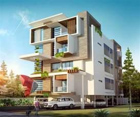 residential building elevation corporate building design 3d rendering corporate