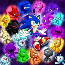 sonic colors rainbow wisps into sonic by rowseroopa on deviantart