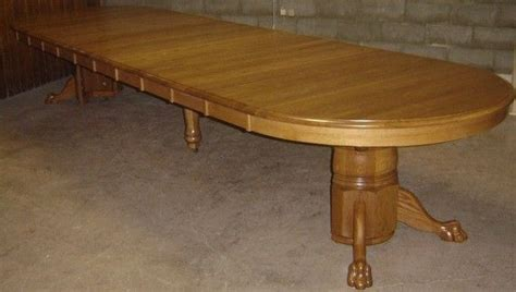 Large Solid Wood Kitchen Table by Handmade New Solid Oak Wood Large Dining Room