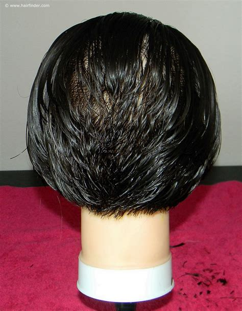 photos of the back of short angled bob haircuts how to cut a short inverted bob or angled bob