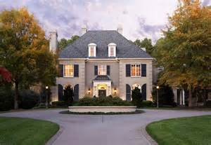 French Style House Plans French House Styles Amp Design Exteriors Pinterest