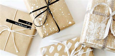 wrapping a gift gift wrap ideas