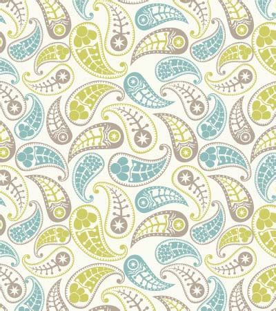 pattern cute illustrator hand drawn vector paisley pattern kidsfashionvector