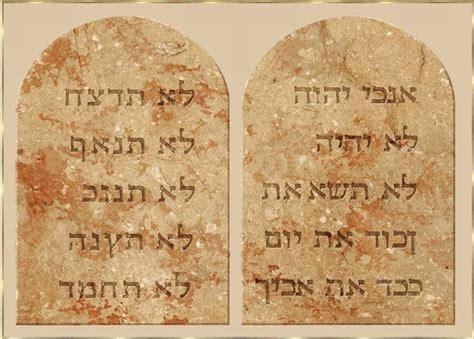 10 gebote tafel die heilige schrift altes testament die zehn gebote