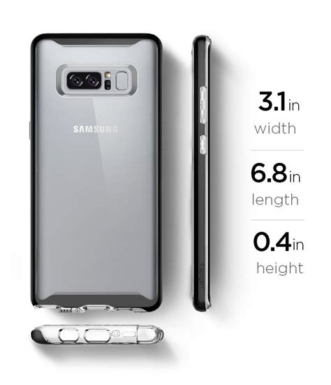 Samsung Galaxy Note 8 Neo Hybrid Black Soft Tpu spigen neo hybrid kryt galaxy note 8 black yourmobile cz