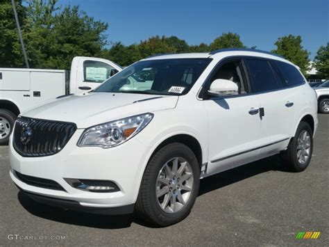white buick enclave 2016 summit white buick enclave leather 106653774