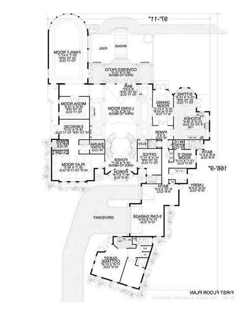 spanish mission floor plan spanish style house plans photos