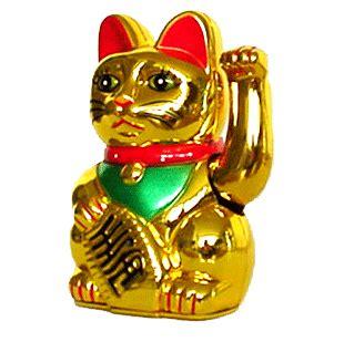 winkekatze bedeutung winkekatze gl 220 ckskatze maneki neko lucky cat gold s 12cm