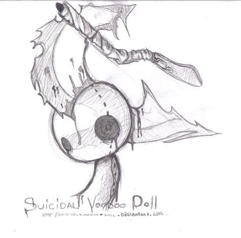 cute voodoo doll drawings suicidal voodoo doll sd1 by suicidal voodoo doll on
