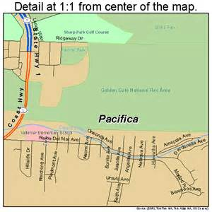 pacifica california map 0654806