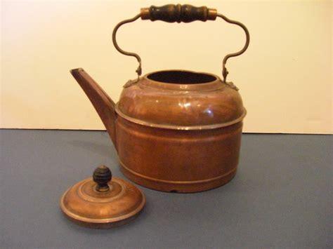 antique copper antique copper tea kettle for sale antiques