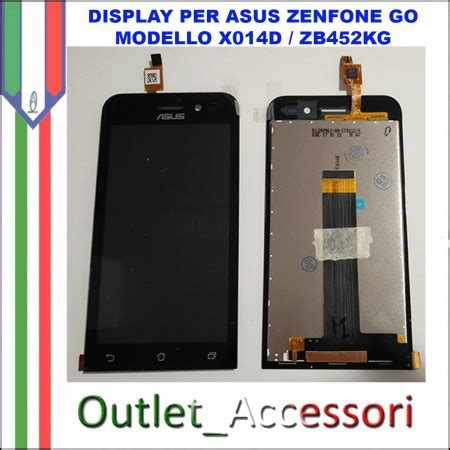 Lcd Asus Go X014d display lcd touch asus zenfone go zb452kg x014d schermo completo