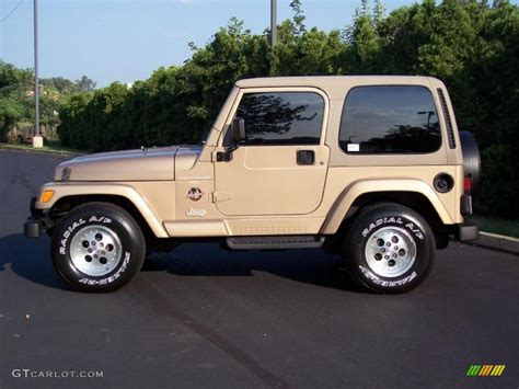 1999 desert sand pearlcoat jeep wrangler 4x4 35552343 photo 5 gtcarlot car