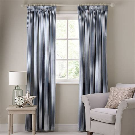 Blue Ticking Curtains 62 Best Images About Window Dressing On Window Treatments Kitchen Window Valances
