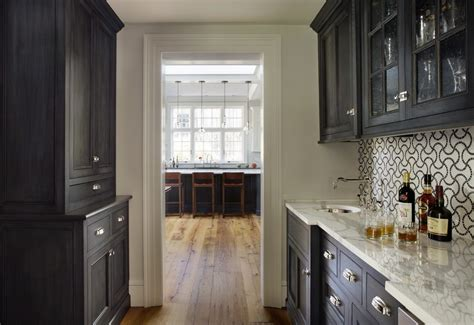 Ideas Concept For Butlers Pantry Design Butlers Pantry Designs Traditional With Built In Shelving Built In Shelving Ceiling Light